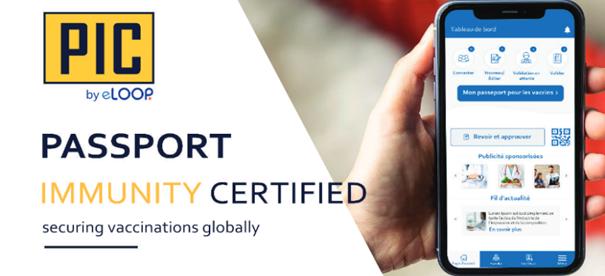 eLoop PIC : votre passeport d'immunité valaisan dans la poche !